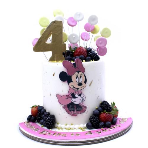 Minnie Mouse Cake 54