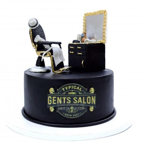 gents salon hairdresser cake 12