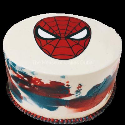 Spiderman cake 28