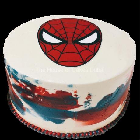 spiderman cake 28 6