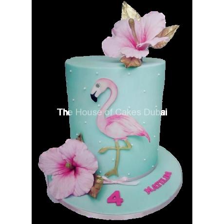 flamingo cake 7 6