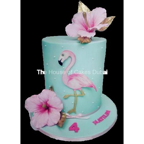 flamingo cake 7 7
