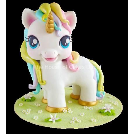 3d cute unicorn cake 6