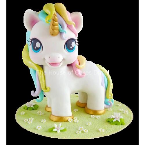 3d cute unicorn cake 7