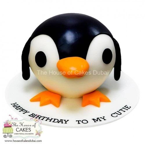 Cute penguin cake 2