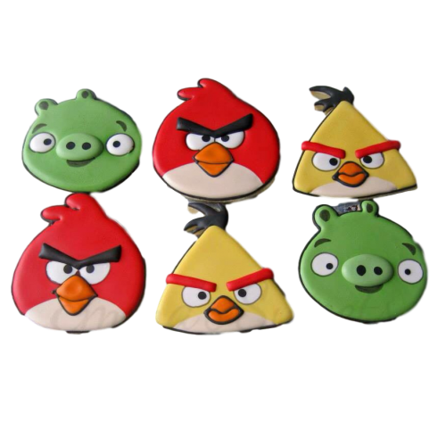 angry birds cookies 7