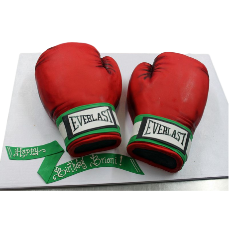 boxing gloves cake 3 6