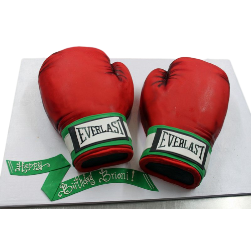 boxing gloves cake 3 7