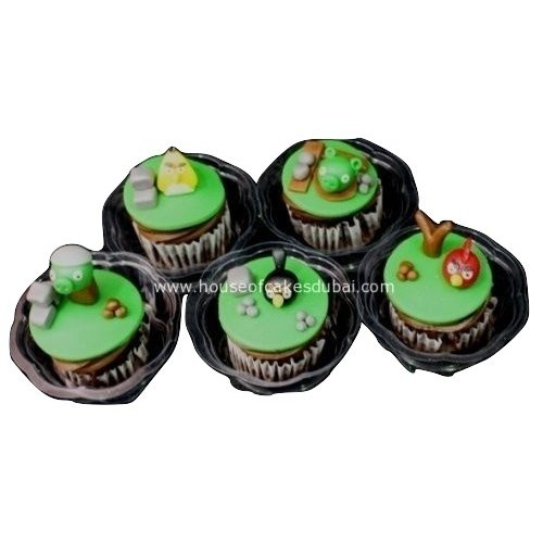 Angry birds cupcakes 2