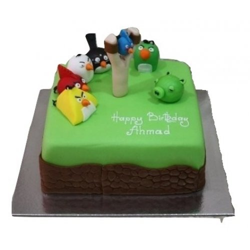 Angry birds cake 9