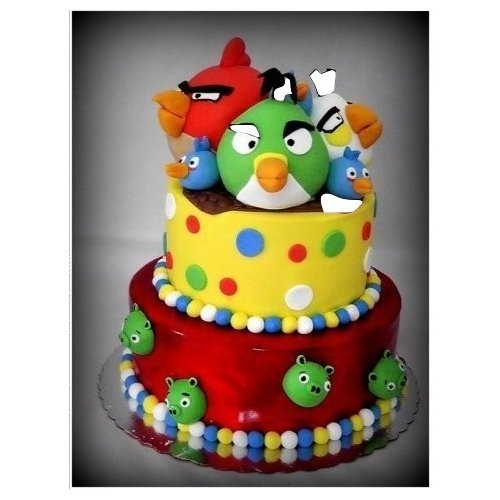 Angry Birds Cake 11