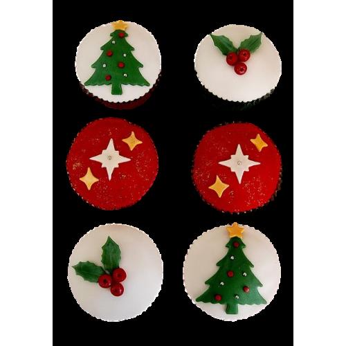 Christmas Cupcakes 4