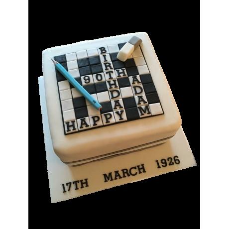 crossword cake 6