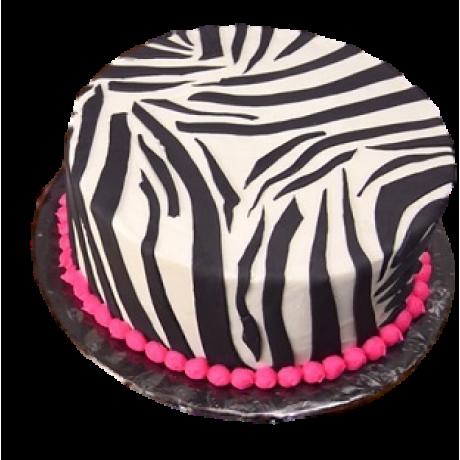 zebra print cake 6