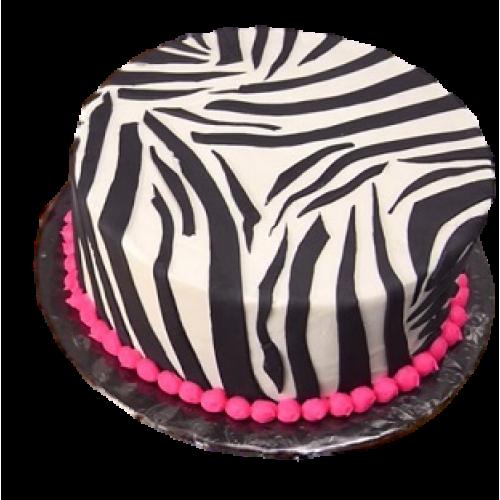 zebra print cake 7