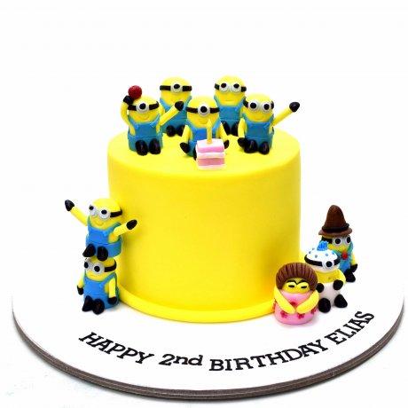 minions cake 11 12