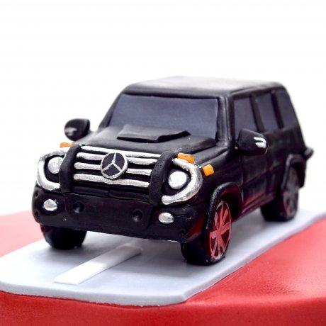 Mercedes Jeep Cake