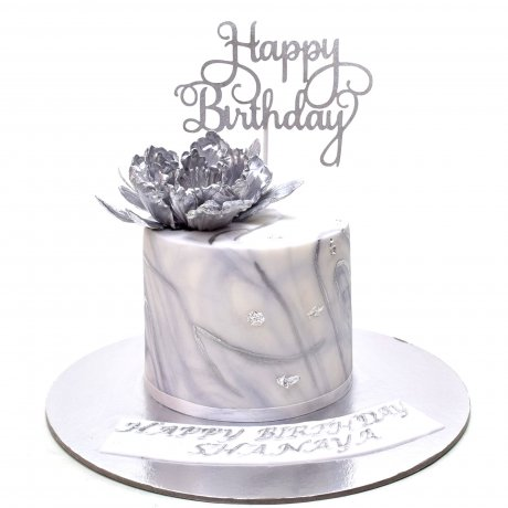 silver marble cake 6