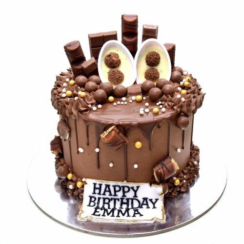 dripping chocolate fantasy cake 3 7