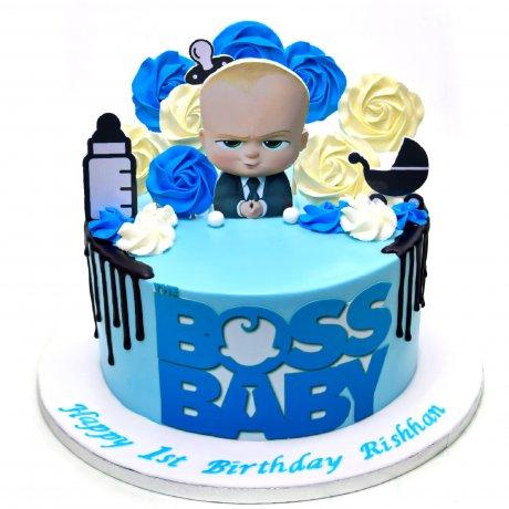 boss baby cake 4 6