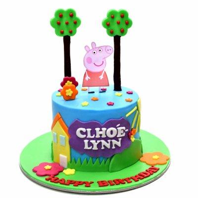 Peppa Pig Cake 14