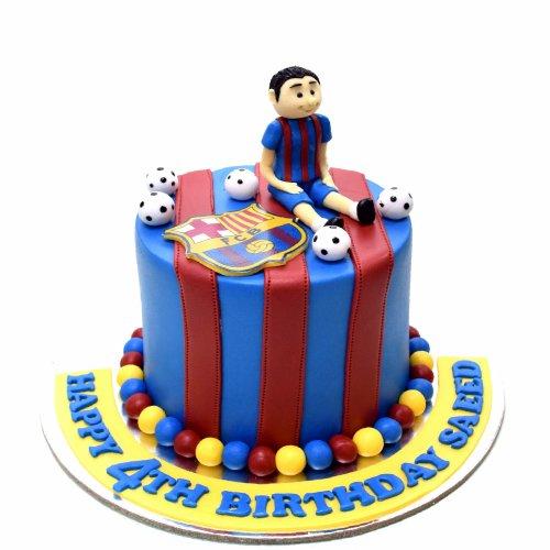 Barcelona cake 4