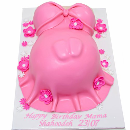 pregnant tummy cake 3 7