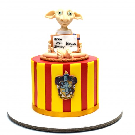 dobby the house elf cake from harry potter 12