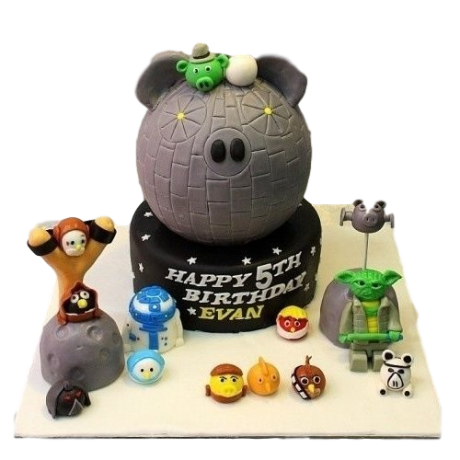 angry birds star wars cake 1 6