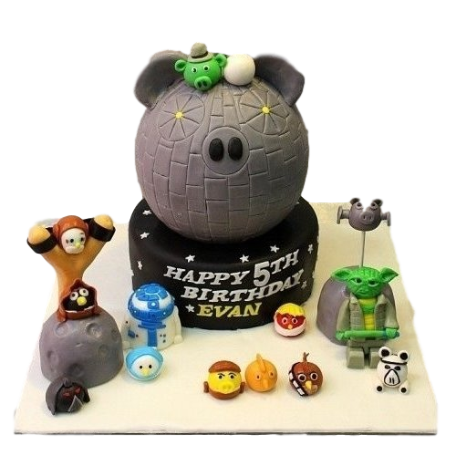 angry birds star wars cake 1 7
