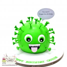 Corona Virus Cake