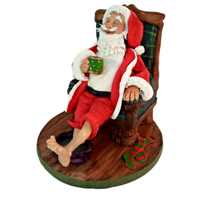 Santa claus cake 3