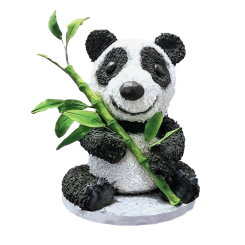 3d panda cake 7