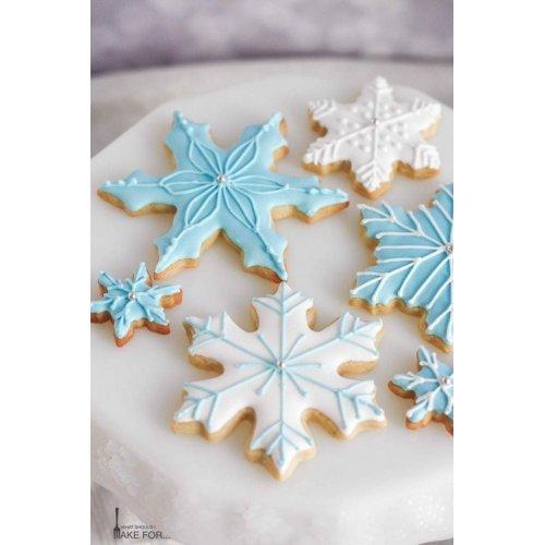 snowflakes cookies 7