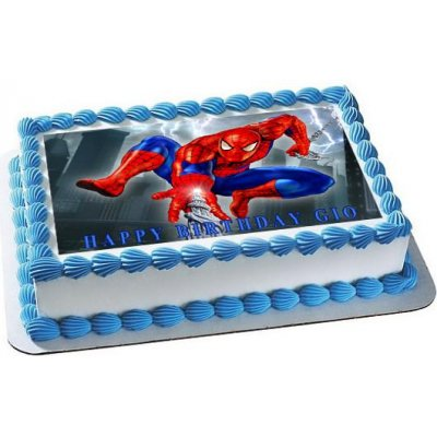 Spiderman Cake with Photo 1