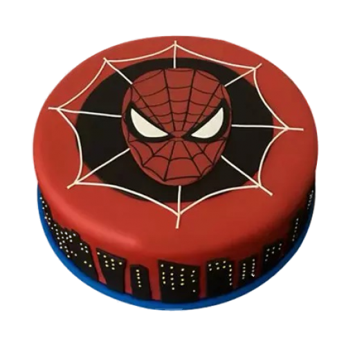 Spiderman cake 7