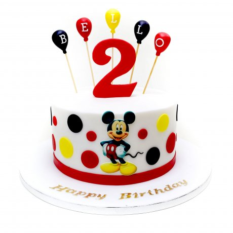 Mickey Mouse Cake 38