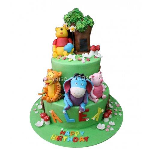 Winnie The Pooh cake 17