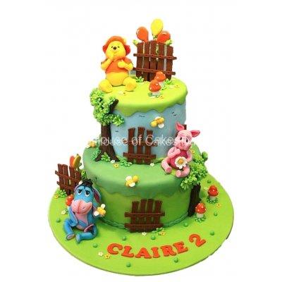 Winnie The Pooh cake 25