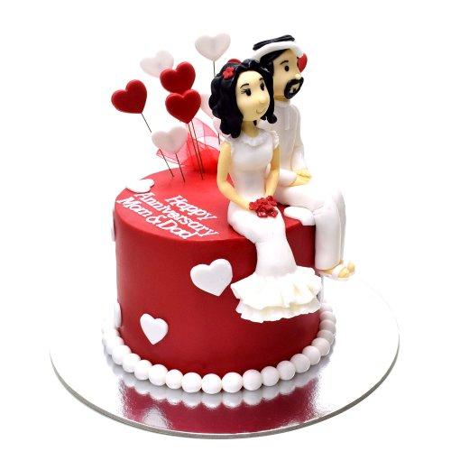 anniversary cake 7