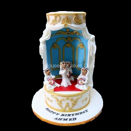 arabic band cake 6
