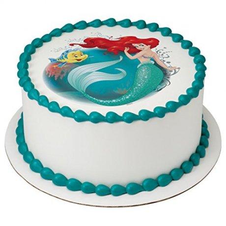 ariel cake with photo 3 6
