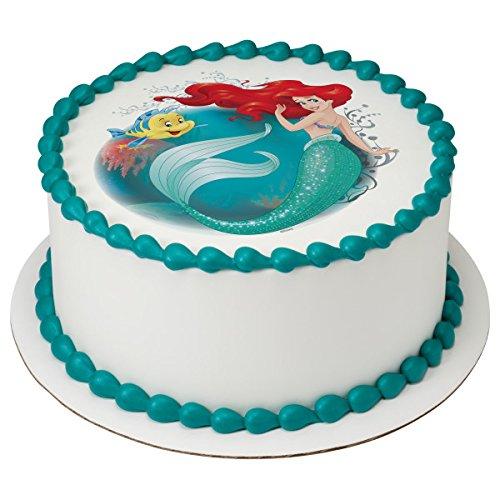 ariel cake with photo 3 7