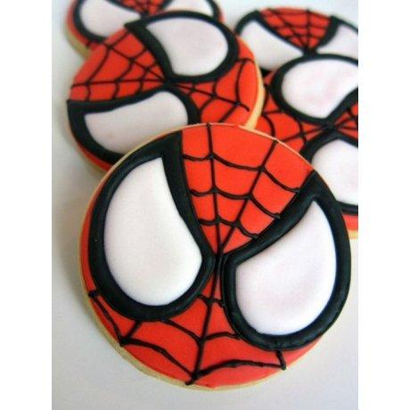 spiderman cookies 6