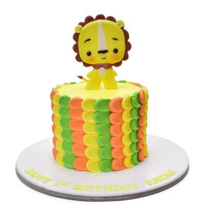 Baby Lion Cake