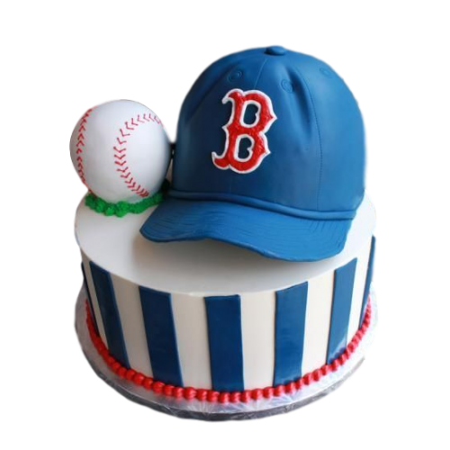 baseball hat cake 2 7