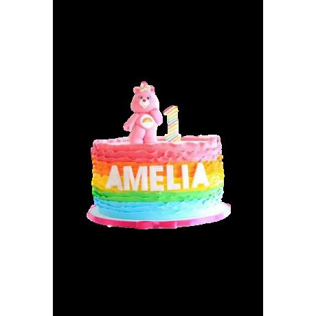 bear and rainbow cake 6