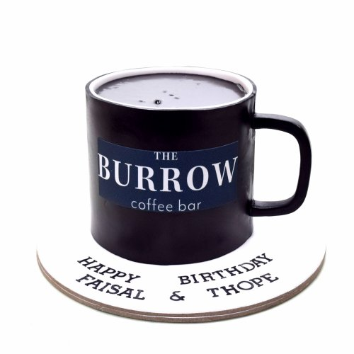 The Burrow Cafe Cake