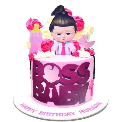 Boss Baby Cake for girl