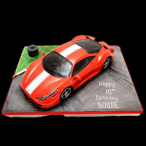 ferrari on road cake 7